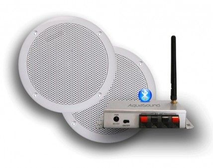 Badkamer Speaker Bluetooth : Aquasound bmc50easy met bolero speakers keukenradio pinterest
