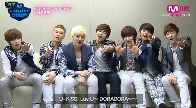 ★유키스(U-KISS) on RT M Countdown★