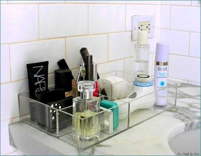 Undercounter Bathroom Organizer Counter Pinterest