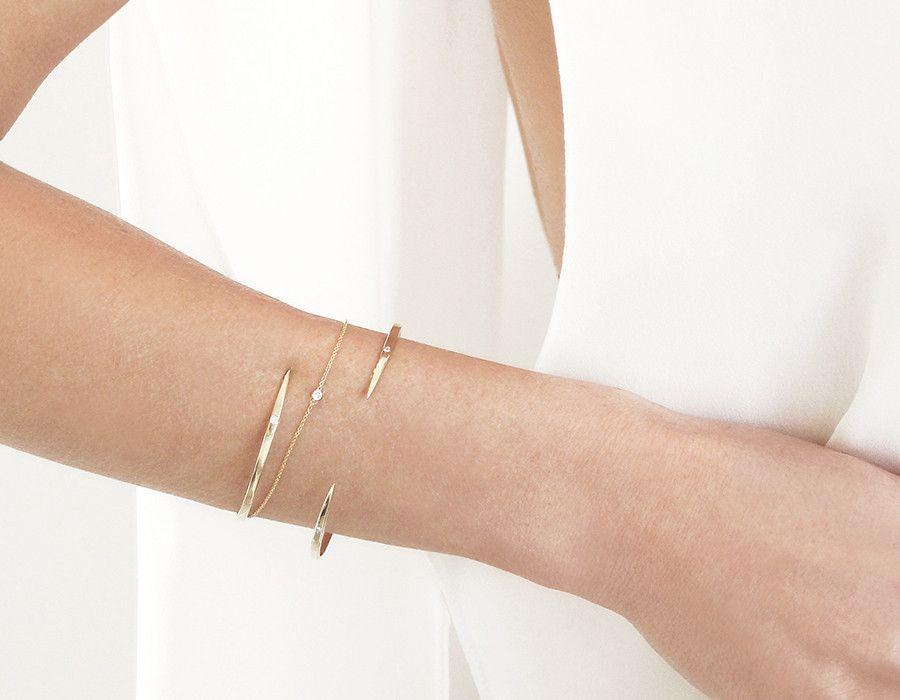 Round Diamond Bezel Bracelet