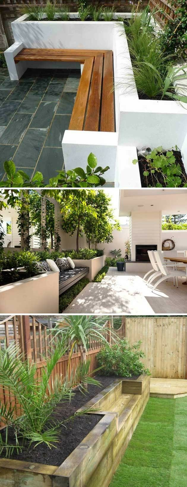 Built In Benches In Almost Anywhere Of A Home: Backyard Seating, Deck Designs Backyard, Backyard Seating Area