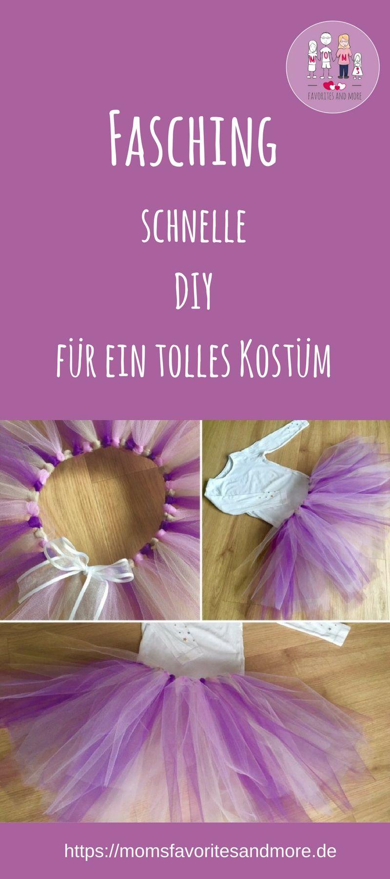 DIY: Faschings-TuTu ohne nähen? Nicht nur für Prinzessinnen-Mamas ...
