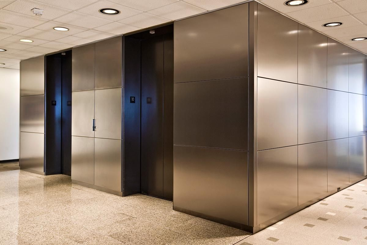Interior Cladding Materials : Stainless steel column cladding manufacturers in u p