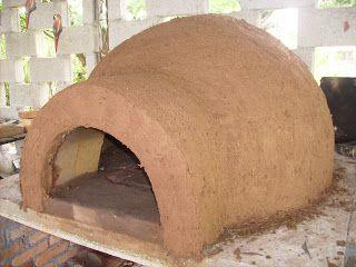 DECORAÇÃO RUSTICA: Construição do Forno e Fogão a lenha