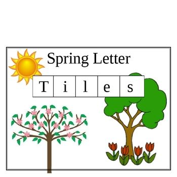 This lesson plan uses words associated with the season of Spring. Students place letter tiles over the corresponding letters in each indicated word...