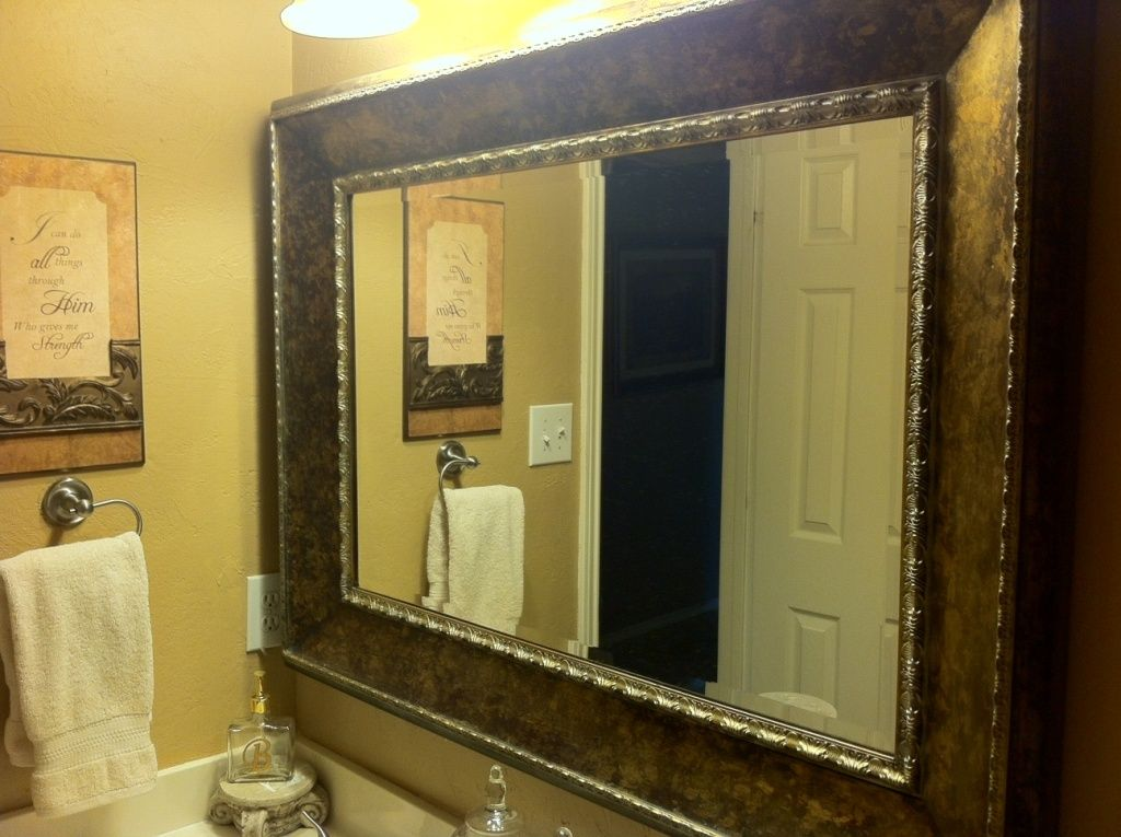 Bathroom Wall Mirrors Lowes Decorative Bathroom Mirrors Large