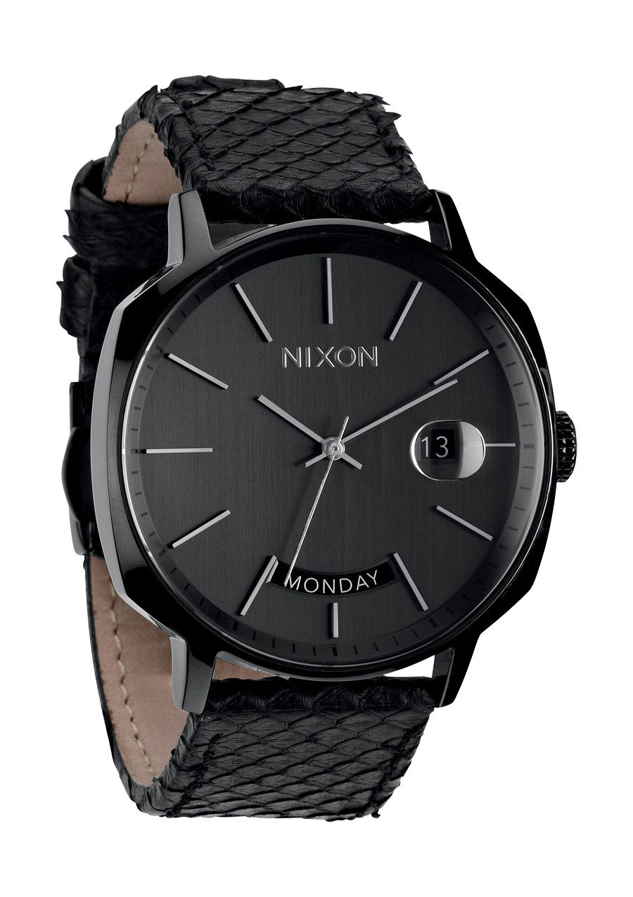 Nixon Watches Nixon The Regent Black Snake Love The Band But It Also Looks