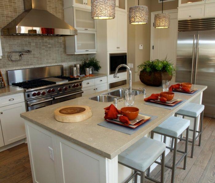 Offene Küche Ideen So richten Sie eine moderne Küche ein Küchen - offene küchen ideen