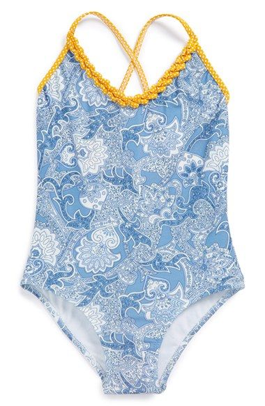 STELLA+COVE+Paisley+Print+One-Piece+Swimsuit+(Big+Girls)+available+at+#Nordstrom