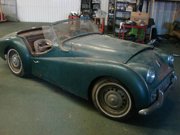 Triumph TR3 restoration project - $2,500 Western NY #ForSale
