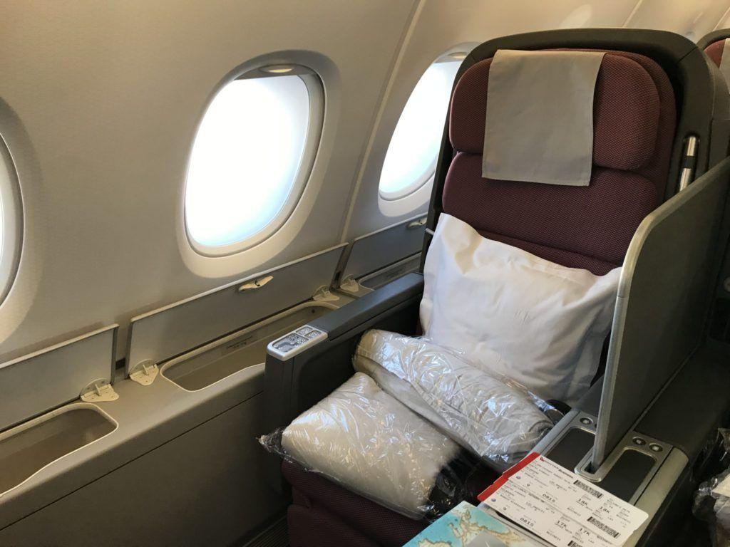 Qantas Business Class Qf93 Trip Report Business Class Flight