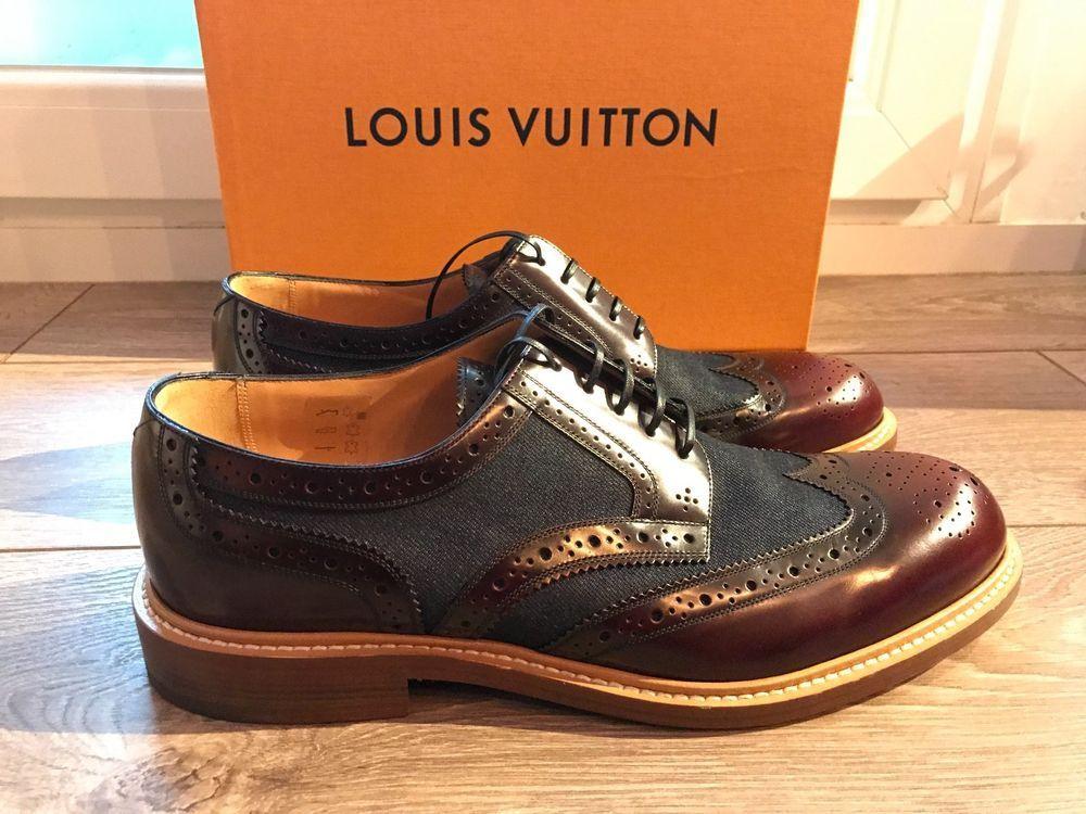 Louis Vuitton Men Shoes Voltaire Derby