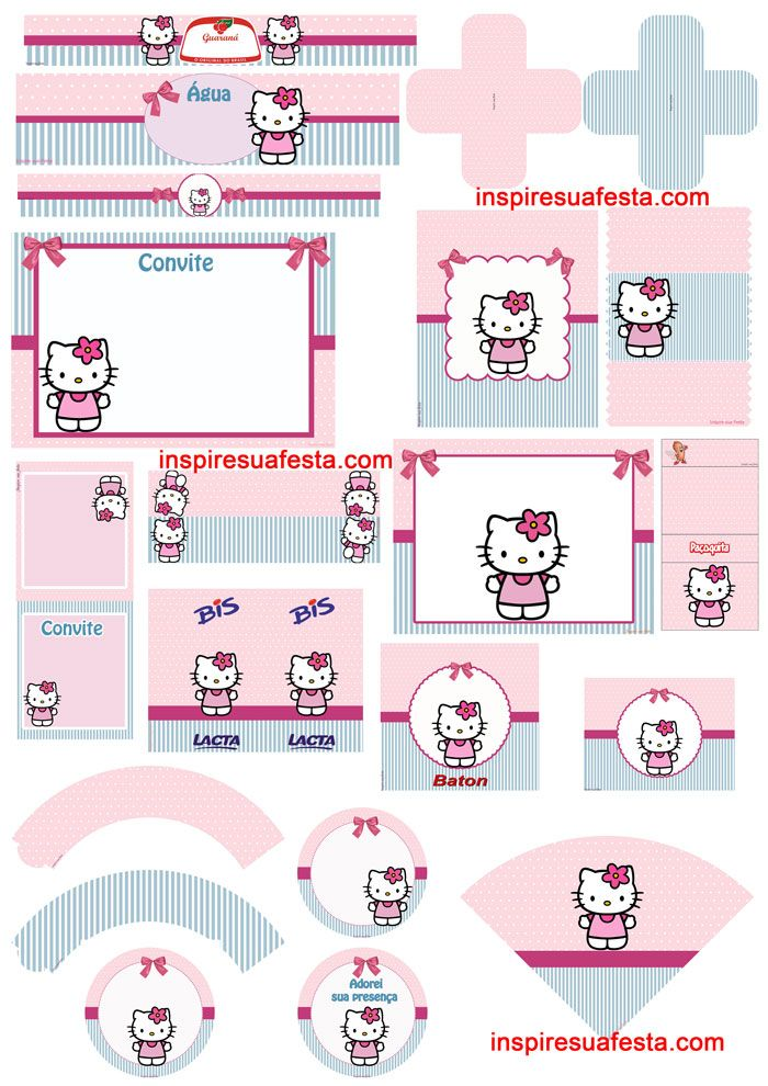 Kit-digital-Hello-Kitty http://inspiresuafesta.com/hello-kitty-artes ...