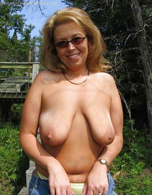 tits saggy gilf Milf mature