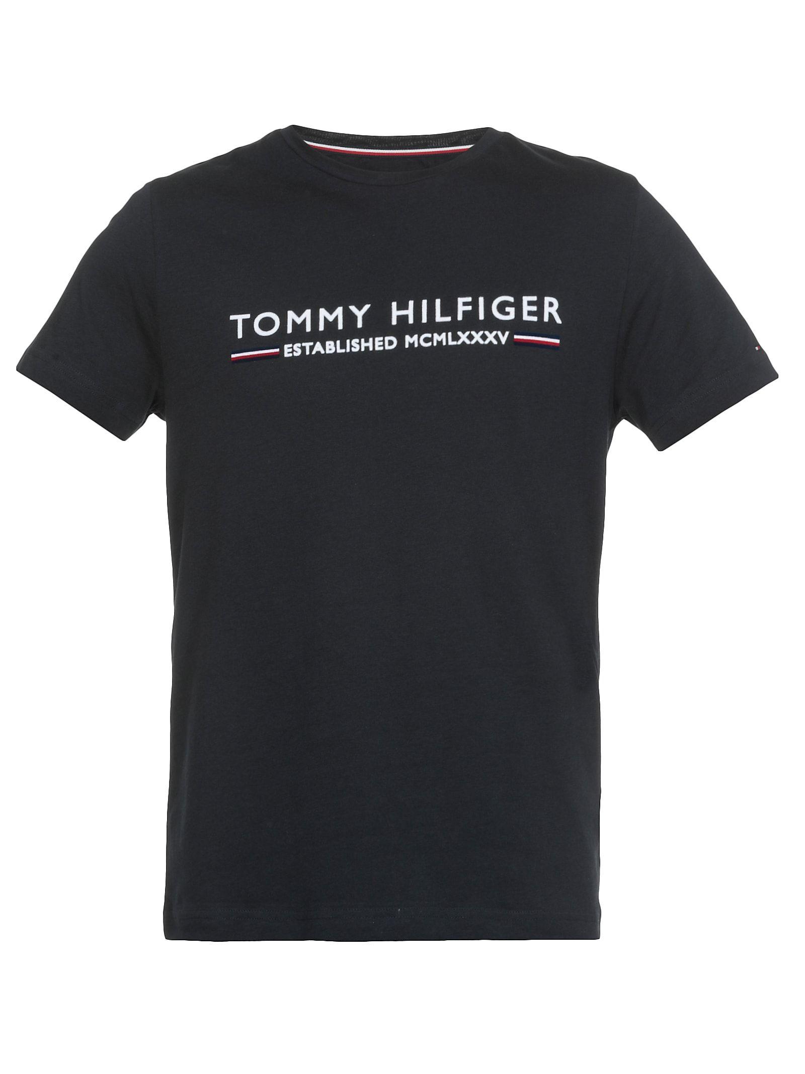 Tommy Hilfiger Tjw Small Logo Text tee Camiseta para Mujer