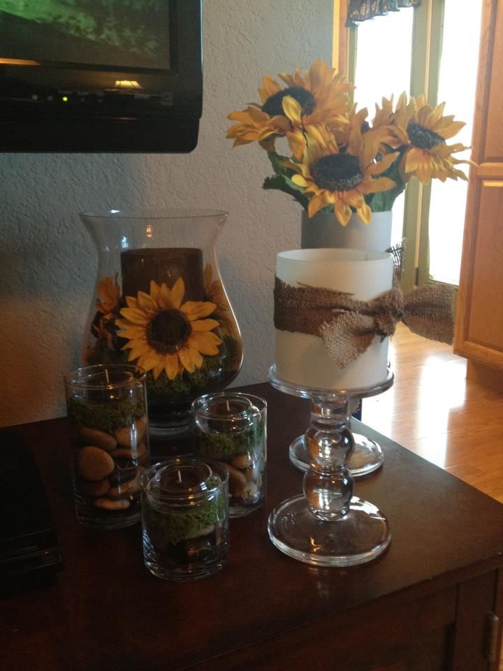lovely Rustic Sunflower Kitchen Decor Part - 16: Sunflower Decor @Teresa Medow
