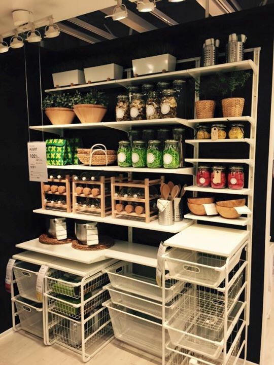 Algot Ikea Pantry In 2019