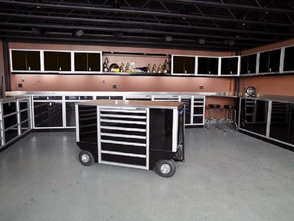 100 Garage Storage Ideas For Men Cool Organization And Shelving Cabinets Aluminum