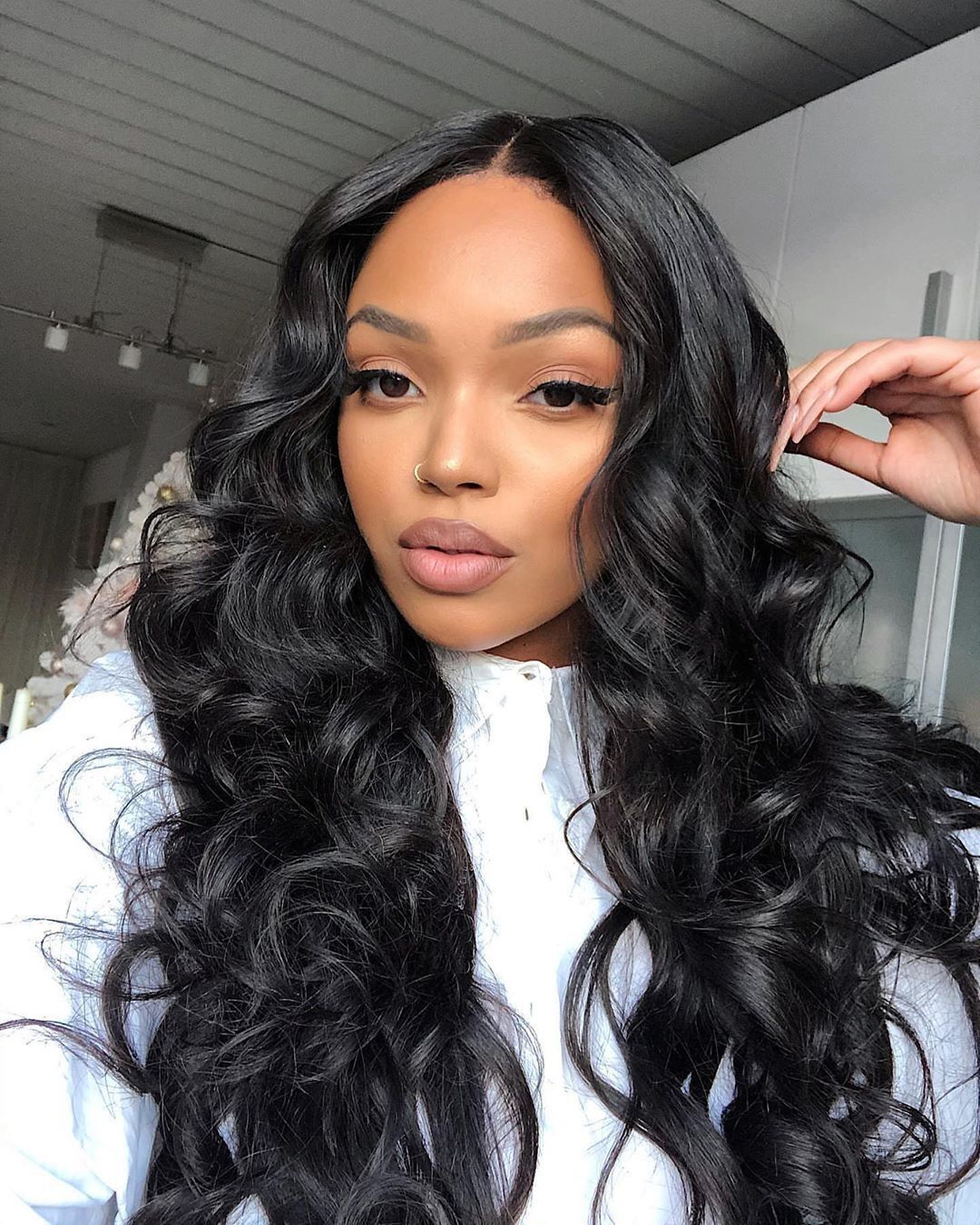 lace front weave hairstyles