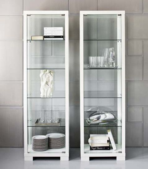 STATION SINGLE GLASS DISPLAY CABINET