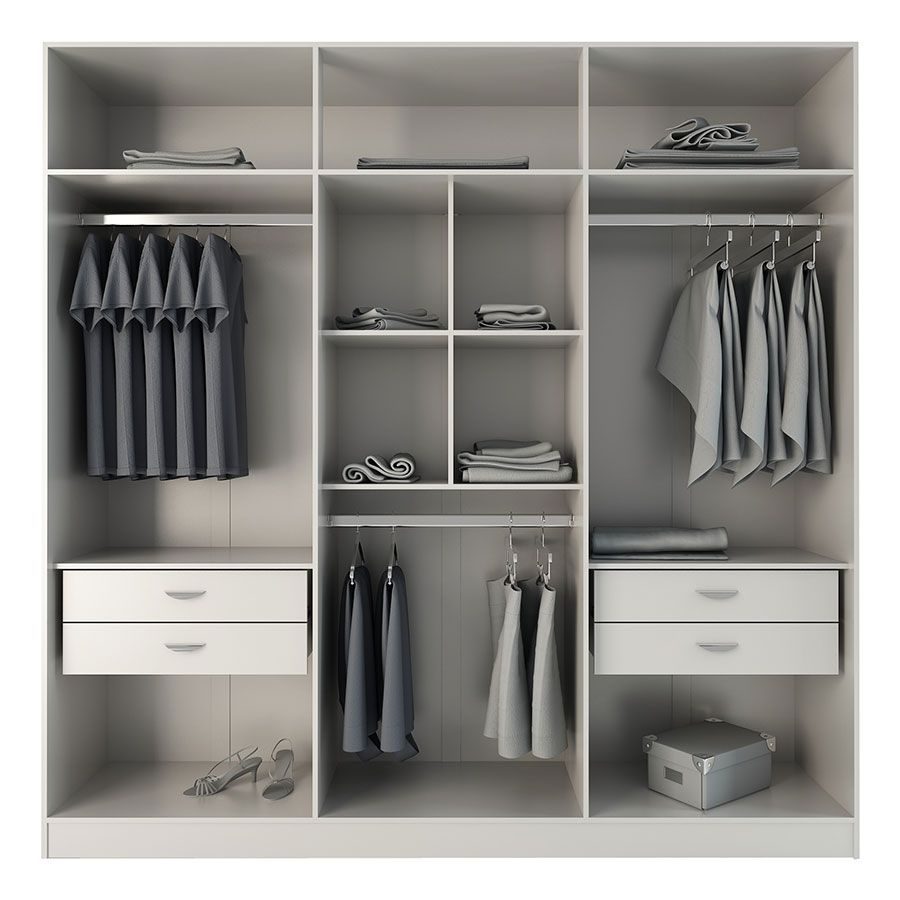 Europe White Modern Armoire Wardrobe Wardrobe Design Bedroom Wardrobe Room Bedroom Closet Design