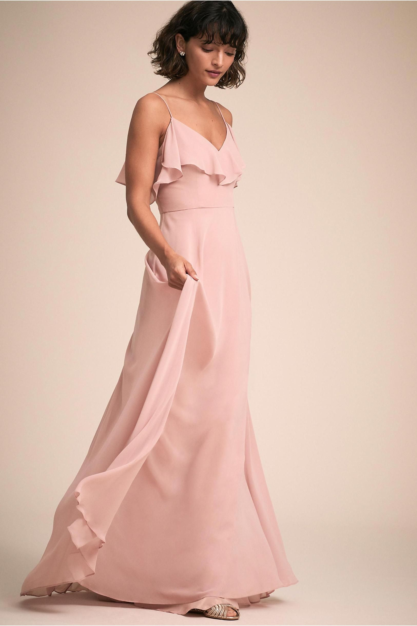 b69960c550f BHLDN s Jenny Yoo Mila Dress in Whipped Apricot  bridesmaids