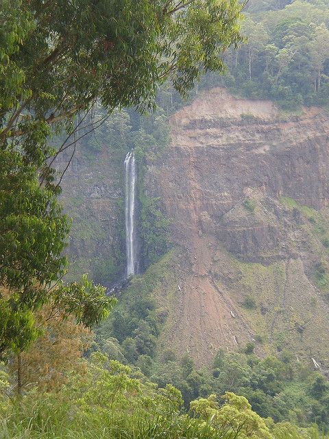 Teviot Falls is the first falls on the road between Boonah & Killarney