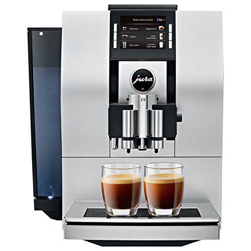 Jura Z6 Automatic Coffee Machine Aluminum Wish List Automatic Coffee Machine Home Coffee Machines Jura Coffee Machine