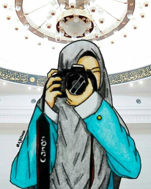Pin Oleh Paulinha Franca Di Anime Islamic Ilustrasi Gambar Kartun