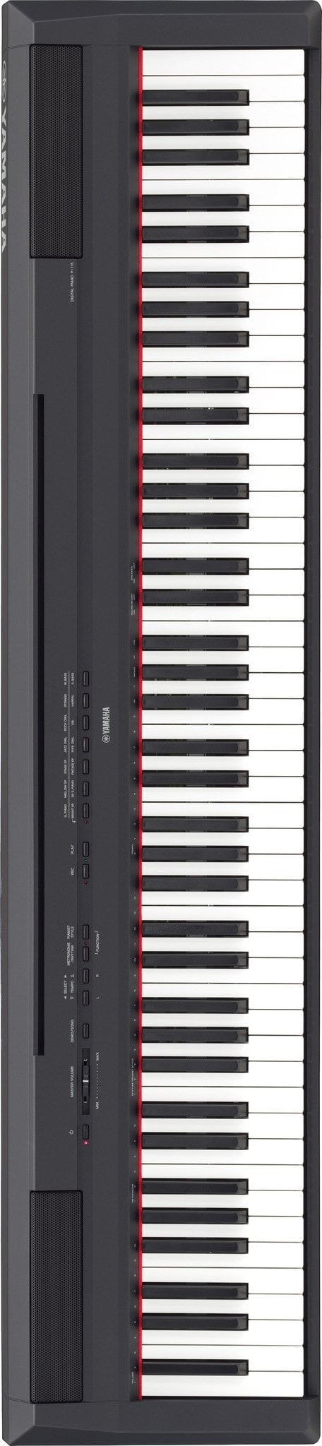 the p 115 yamaha 39 s follow up to the industry 39 s best selling digital piano now has its own app. Black Bedroom Furniture Sets. Home Design Ideas