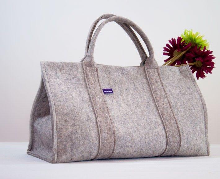 Filz Shopper Filz Tasche 50 X 20 X 30 Cm Individualisierbar Tasche Filzen Filztasche Filztaschen