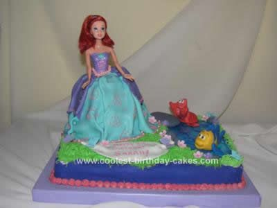 Little mermaid cake party ideas Party Cakes creative Ideas