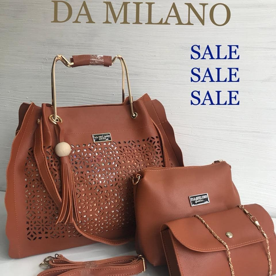 969b5df87fd2 Da Milano Bags Combo of 3 High Quality Price Rs 1000 - Dm for orders Ship  extra Order id Da Milano Bags Combo of 3 High Quality Price Rs 1000 - Dm  for ...