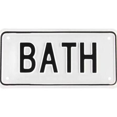 Vintage Bathroom Signs   Google Search