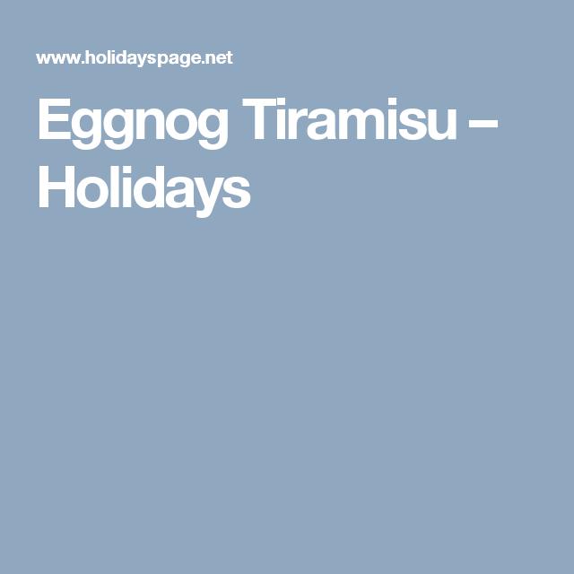 Eggnog, Latte Flavors, Tiramisu