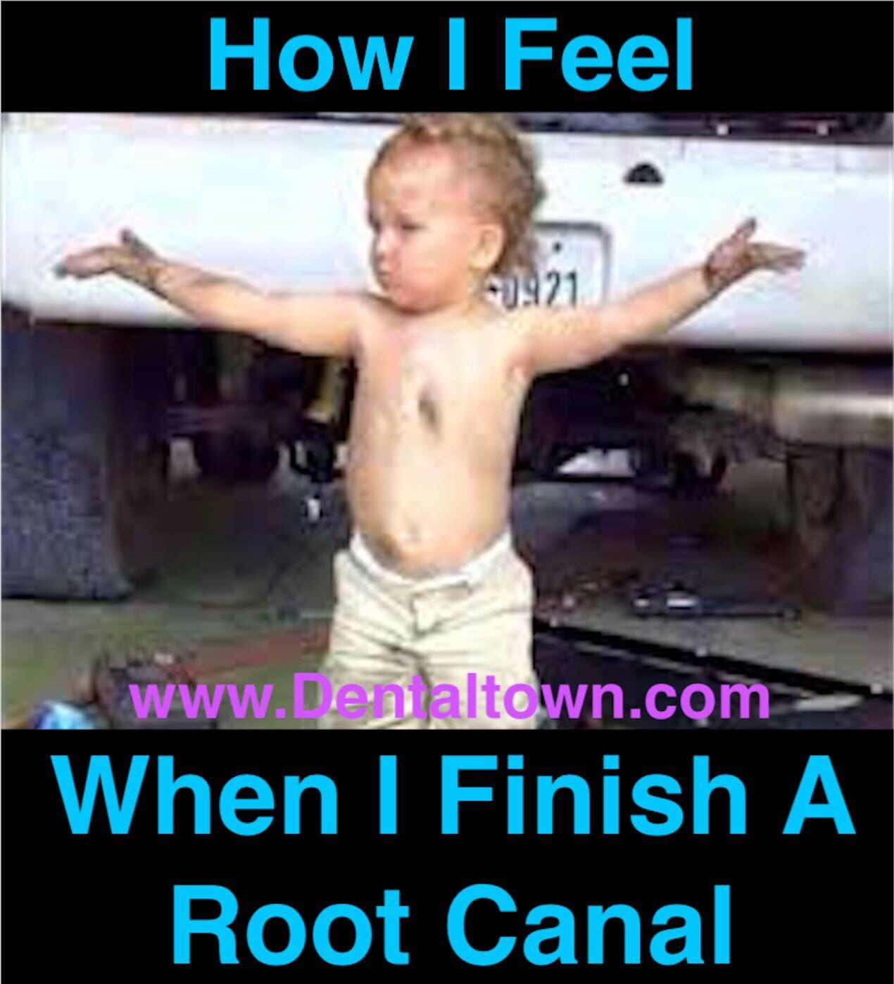 7f31cf4c729f15315a54d35dbc5b08ff how i feel when i finish a root canal! words to live by