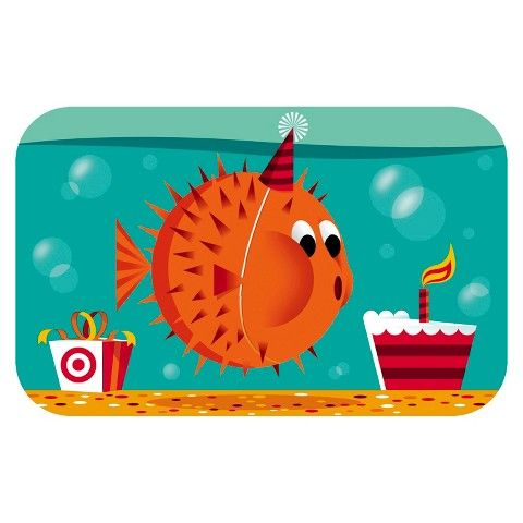 Shoppingspout - Blowfish Birthday Gift Card