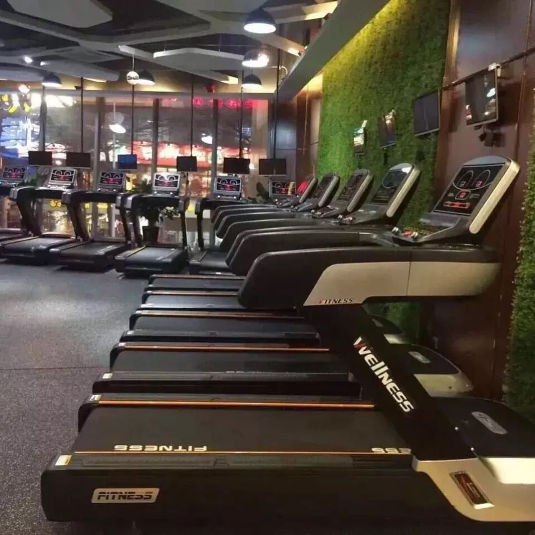 A60 treadmill MF wellness in gym 😊💪💪#fitness equipment #