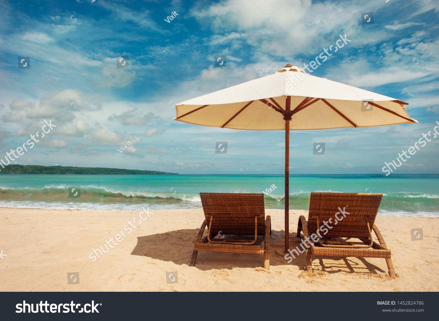 Chairs On The Tropical Beach Near Sea Thailand Holidays Background Ad Spon Beach Tropical Chairs Sea Tropical Beach Tropical Chairs Holiday Background
