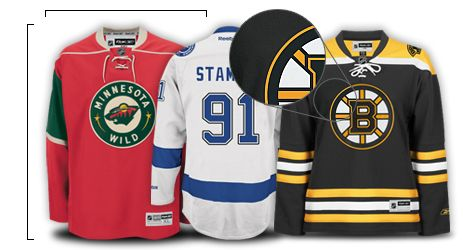 Nhl Jersey Sizes Nhl Jersey Sizing Chart Buying Guide For Reebok Authentic Premier Replica Practice Jerseys At Shop Nhl Com Shopping Jersey Stuff To Buy