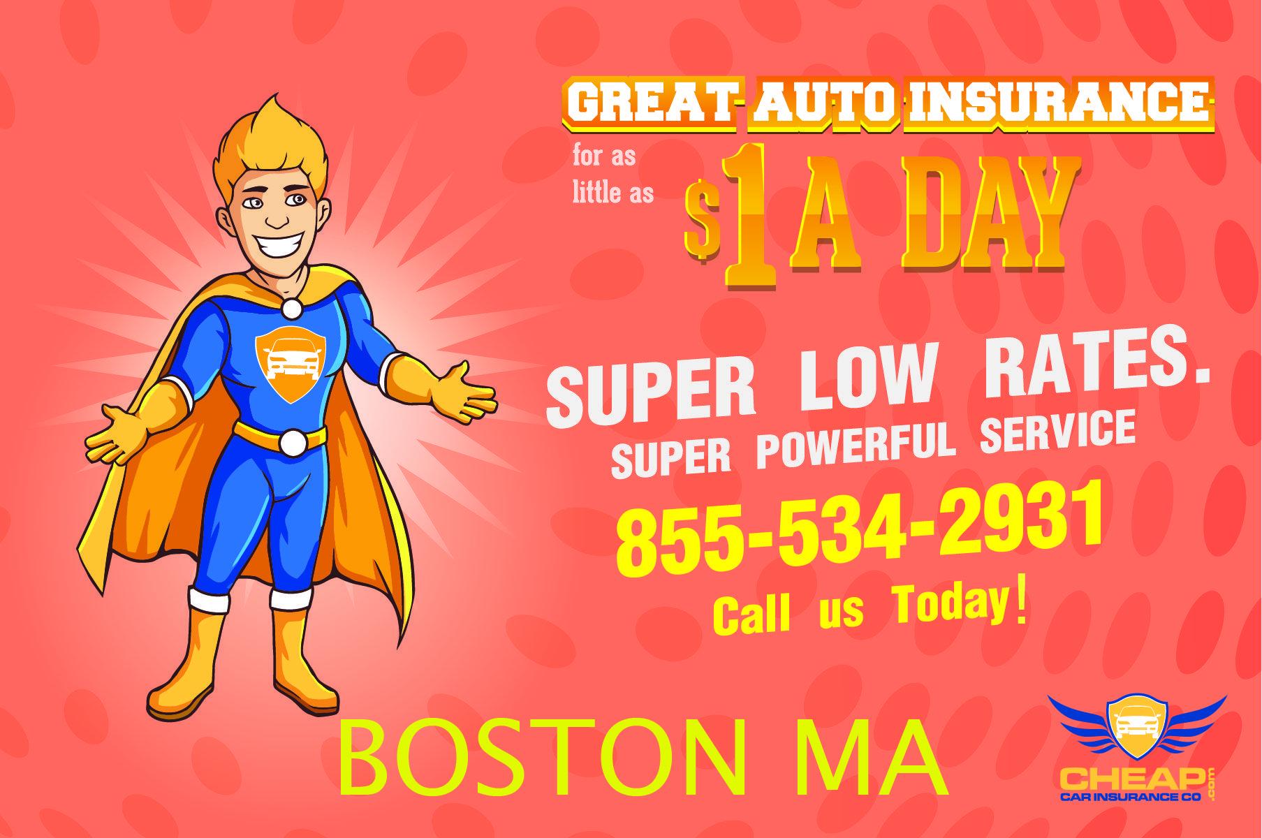 Cheapest car insurance boston massachusetts get the best