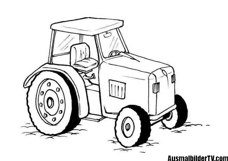 Traktor Ausmalbilder Henrys 2 Geburtstag Trecker Pinterest