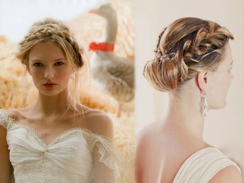 Classic Bridal Updo Hairstyle : Classic wedding updos for short hair google search