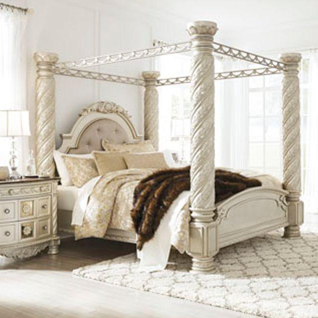 Cassimore Canopy Bedroom Set Signature Design 3 Reviews: Master Bedroom Set