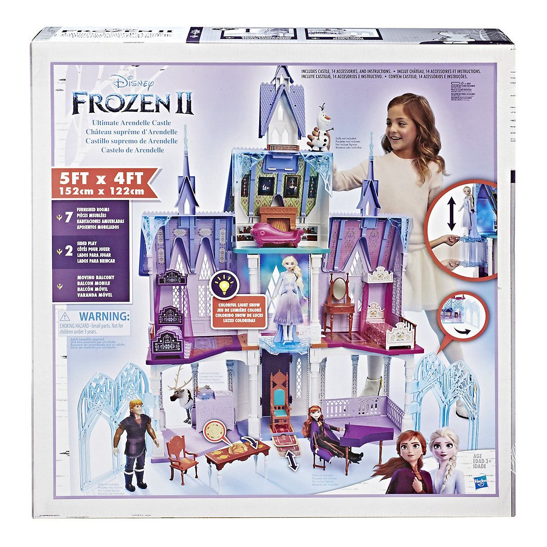 Disney's Frozen 2 Ultimate Arendelle Castle Playset by Hasbro