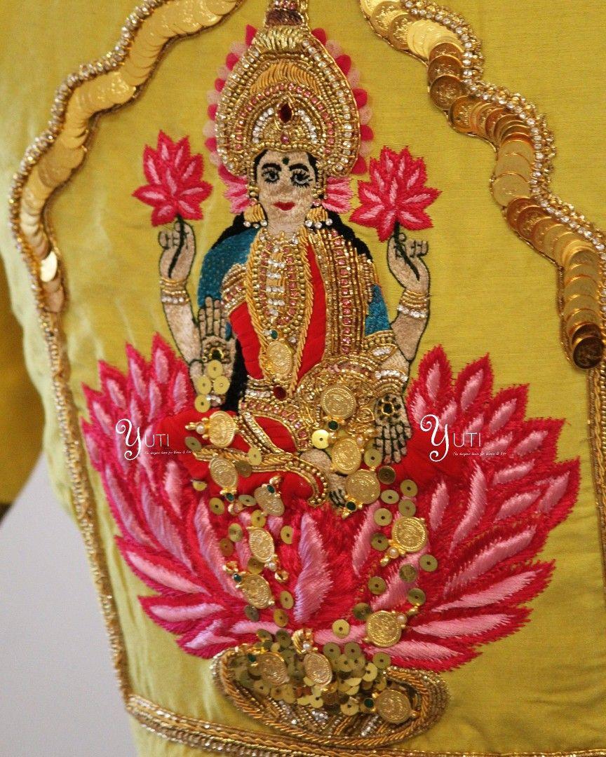 302e31e9417cd Lakshmi devi back blouse. In a Spiritual Spree! Goddess is the Woman who  breaks the mold