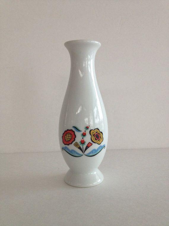 Vintage Scandinavian Vase Berggren Originals By Vintagebybeth