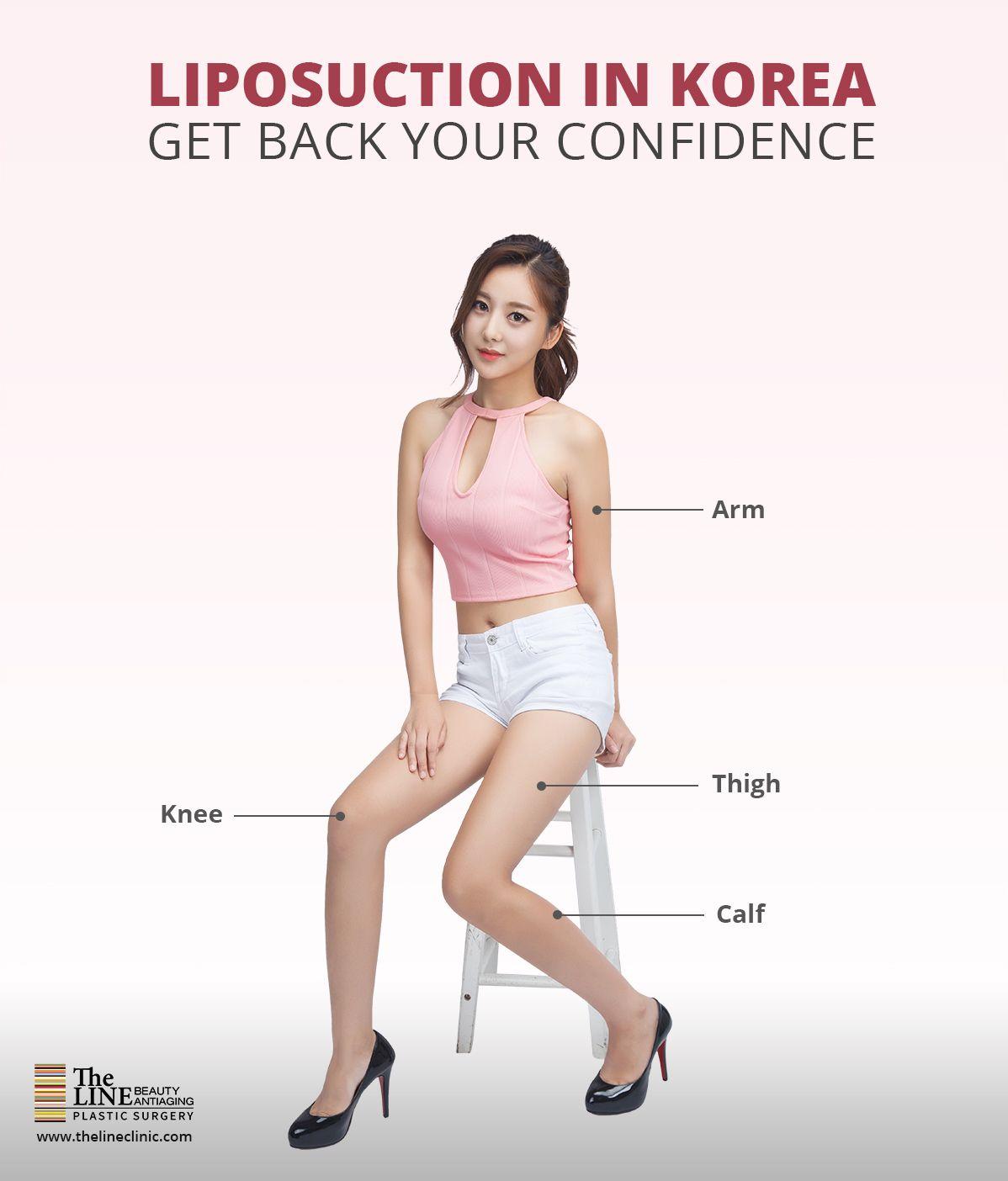 Abdomen Thigh Arm Liposuction Surgery In Korea Liposuction Arm Liposuction Thigh Liposuction