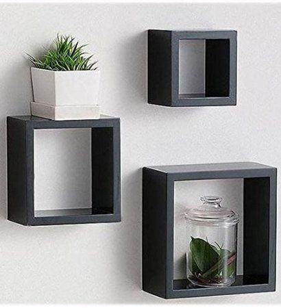 Robot Check Floating Cube Shelves Floating Shelves Cube Wall Shelf