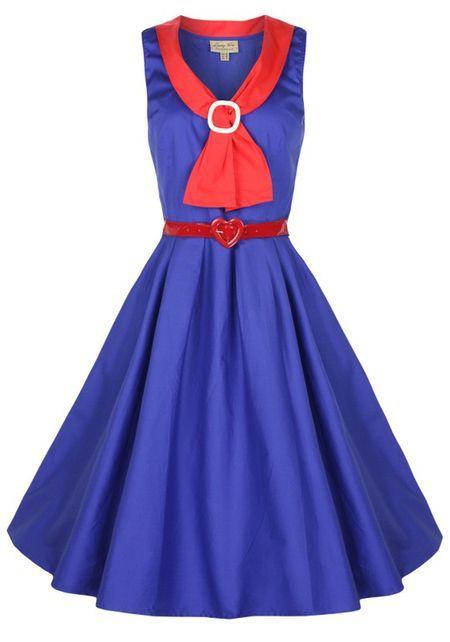 Paige Blue, Dress - Lindy Bop  Misswindyshop